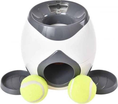 automatische ballenwerper voor honden